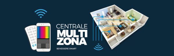 Centrale Multizona Pro, nuove soluzioni professionali di illuminazione LED