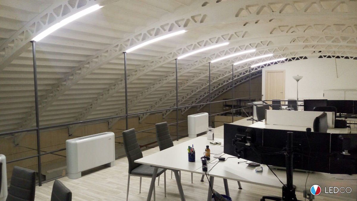 Illuminazione w per ufficio ledco italia