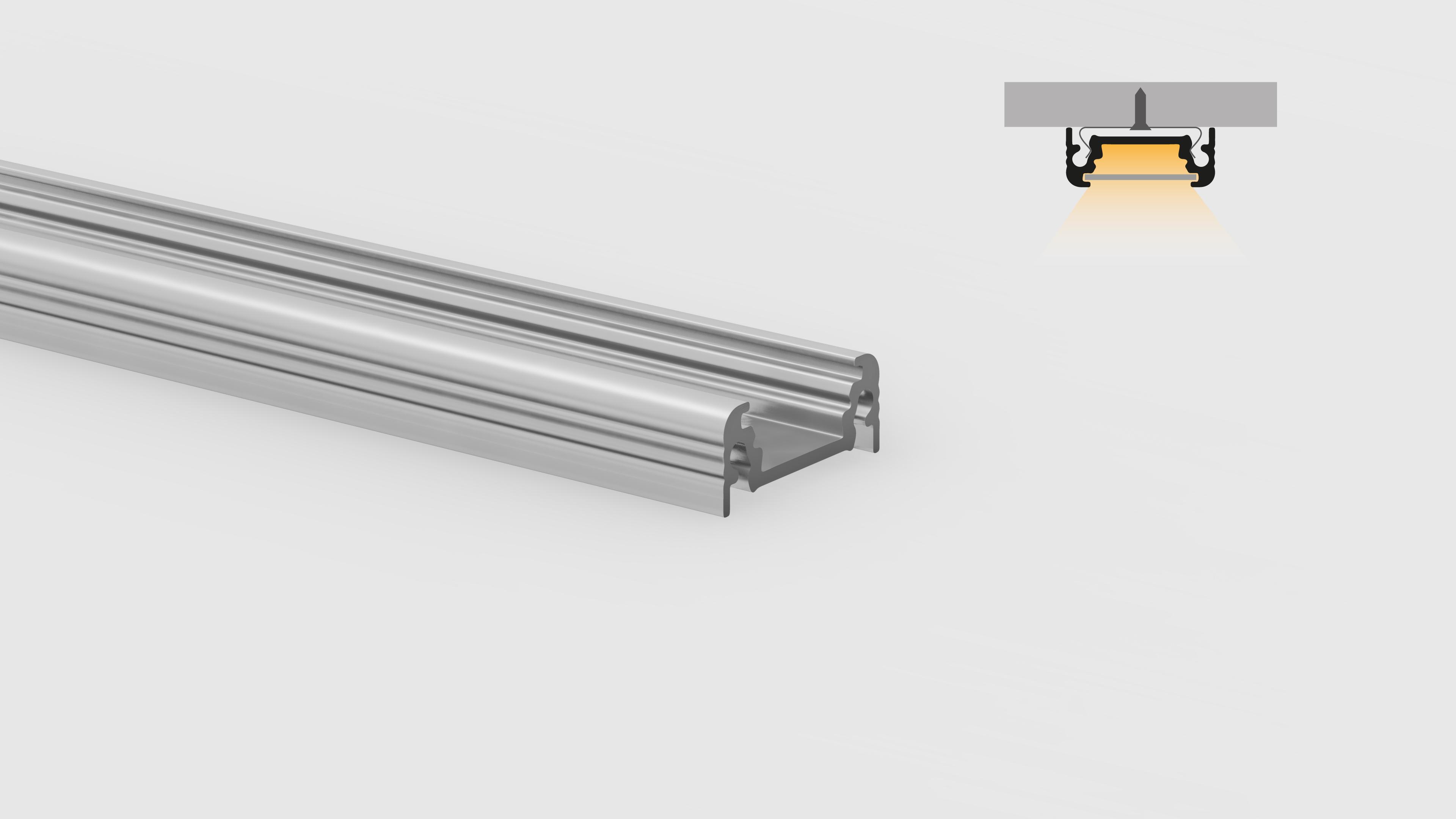 Profilo in alluminio – superfici piane – PR100