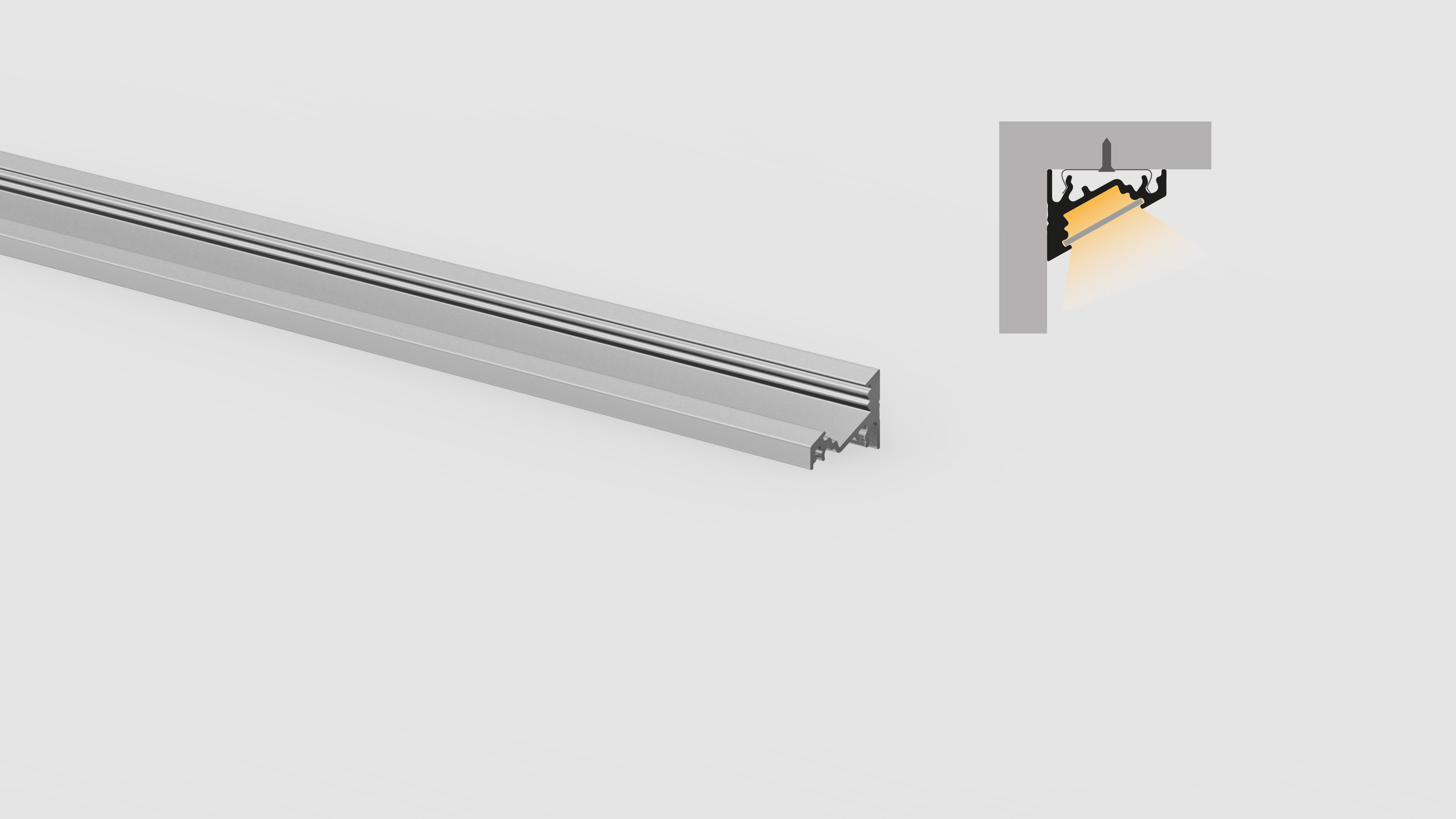 Profilo in alluminio – angolari – PR300