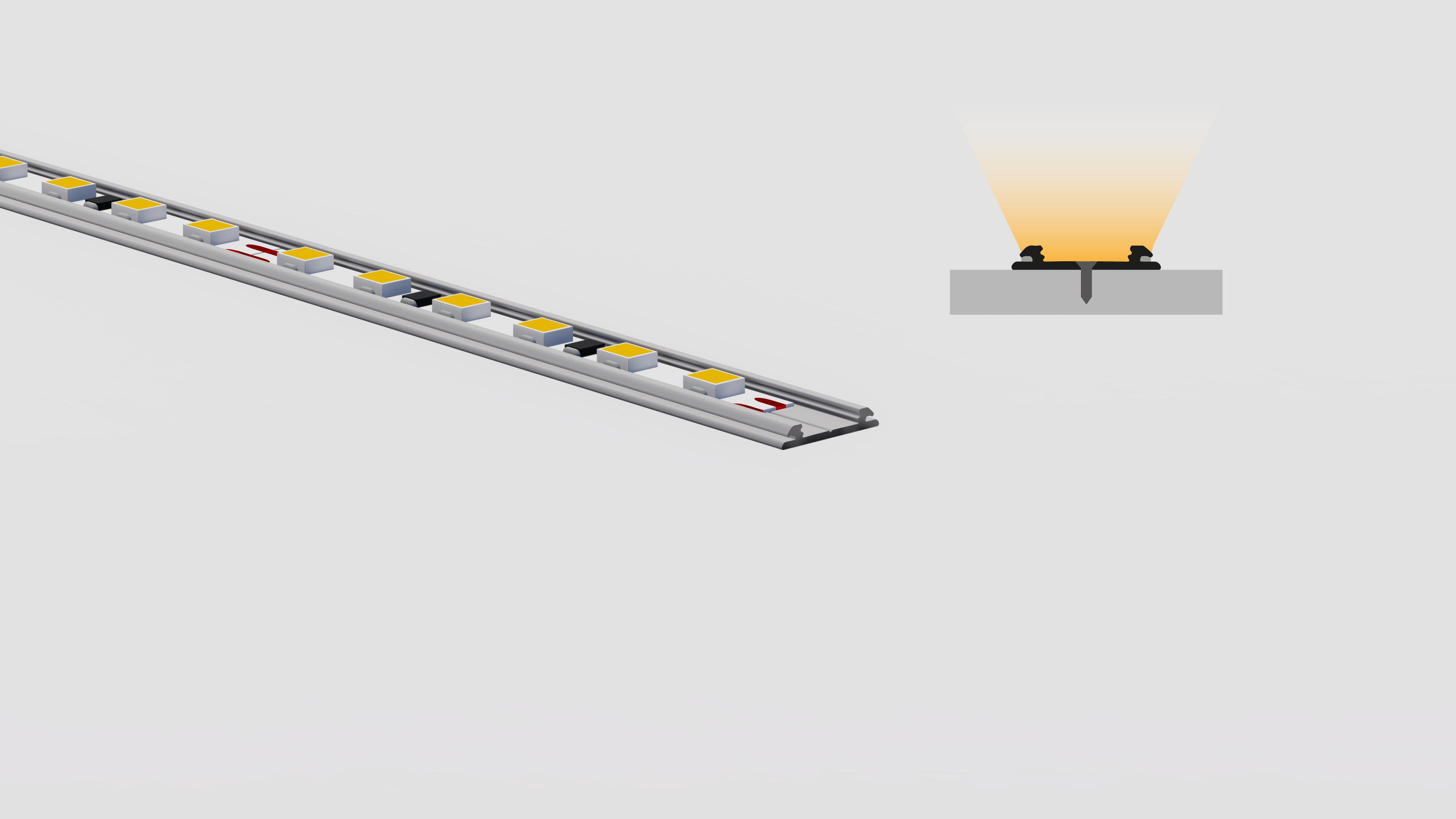 Bandella dissipatrice per superfici piane e curve – PR410