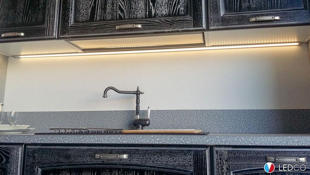 Lighting for Kitchen Showroom – Bari