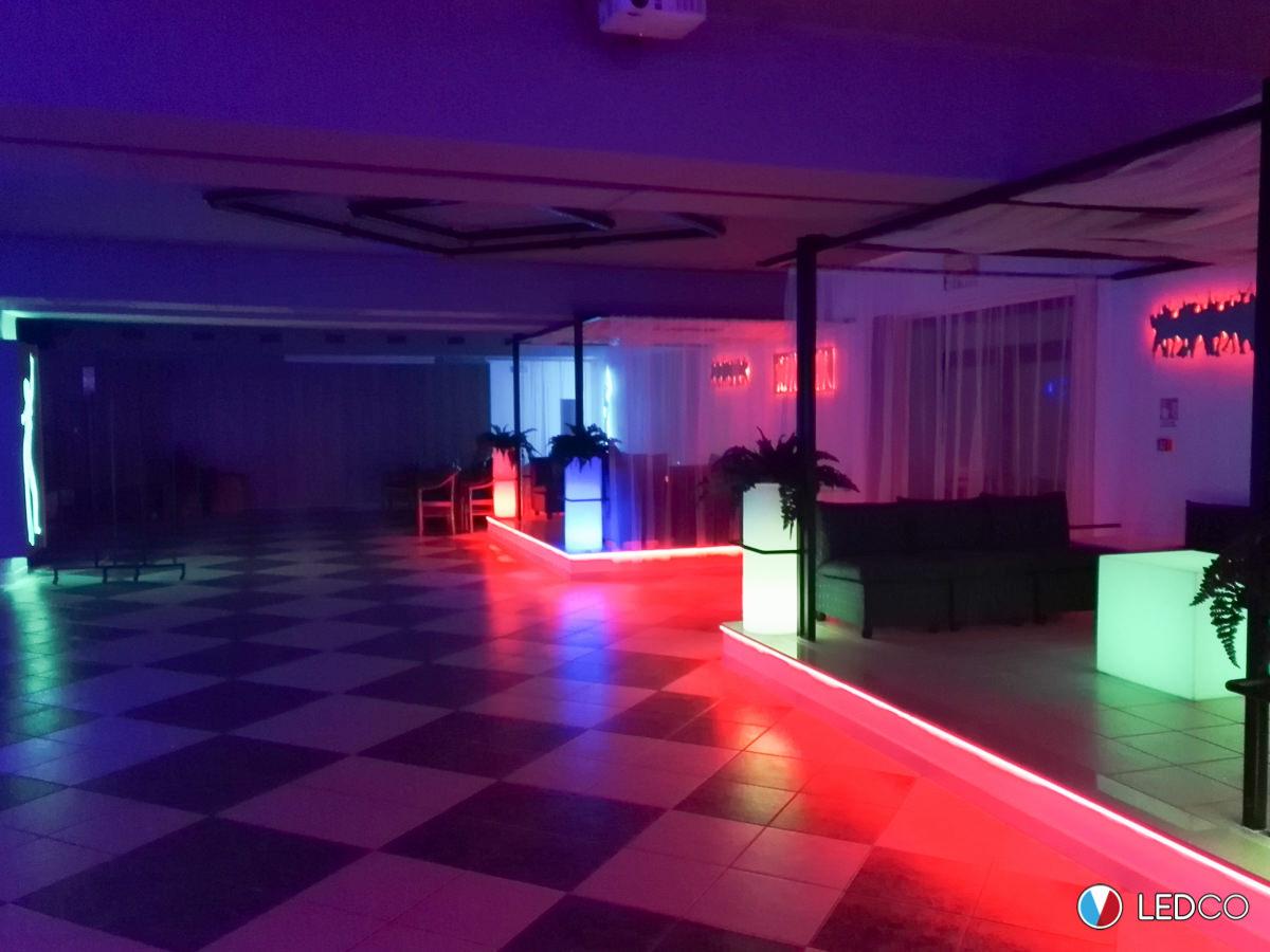 Illuminazione discoteca san giovanni rotondo foggia ledco italia