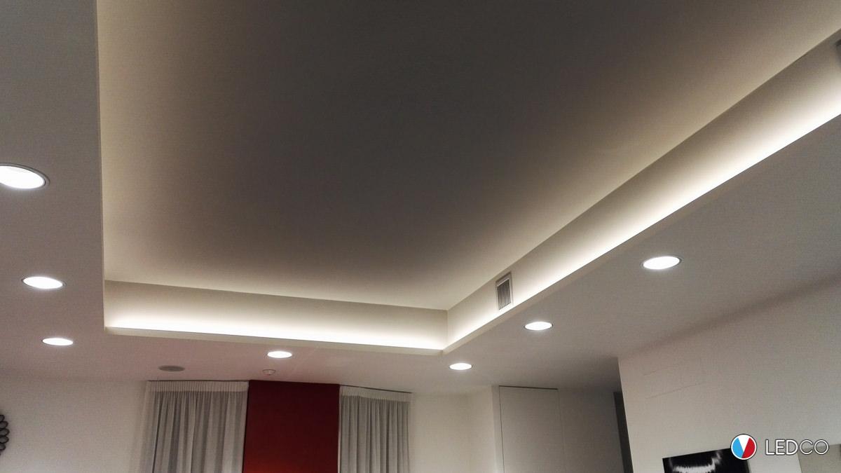 Illuminazione Salone Con Led illuminazione salone parrucchiere 2 - bari - ledco italia
