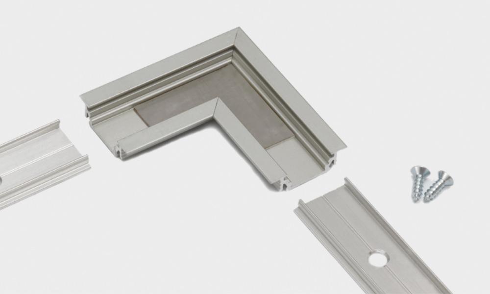 Profilo in alluminio – accessori