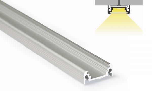 Profilo in alluminio - superfici piane - PR100