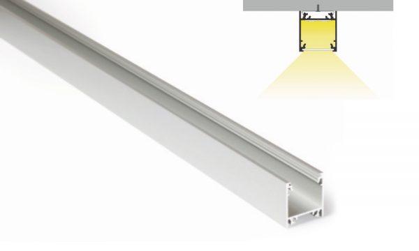 Profilo in alluminio - superfici piane - PR120