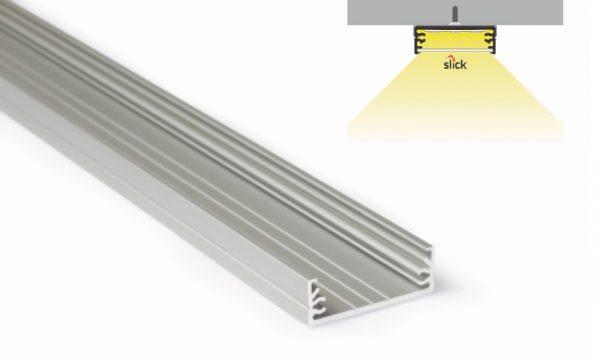 Profilo in alluminio - superfici piane - PR130