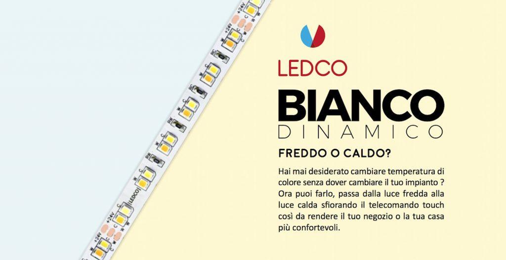 Strip Led Bianco Dinamico Cambiare Temperatura Di Colore Senza