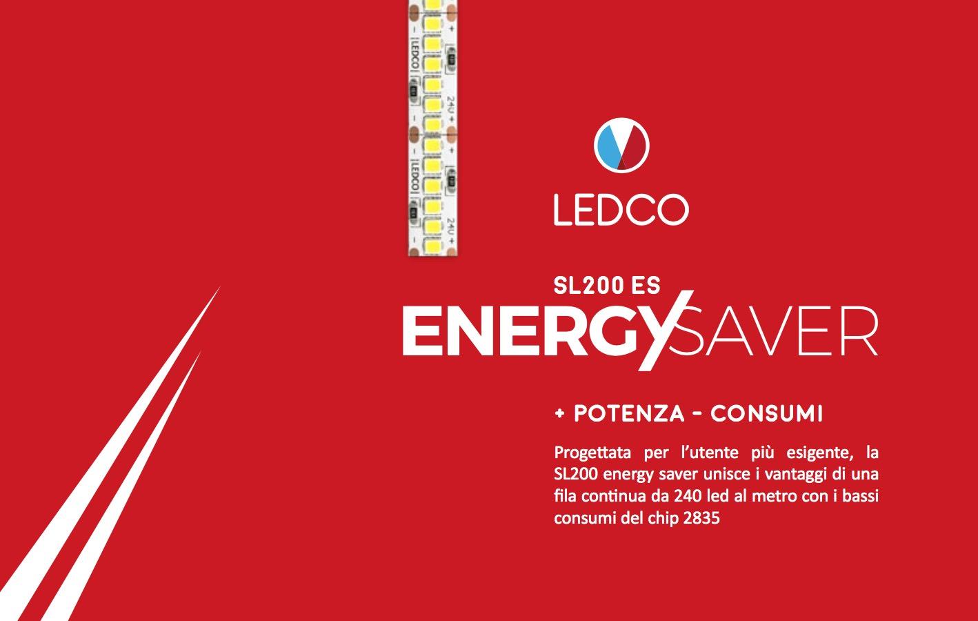 Più potenza a bassi consumi con la Strip Led SL200 Energy Saver