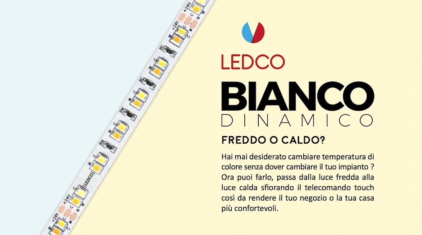 Strip Led Bianco Dinamico, cambiare temperatura di colore senza dover cambiare tutto l'impianto