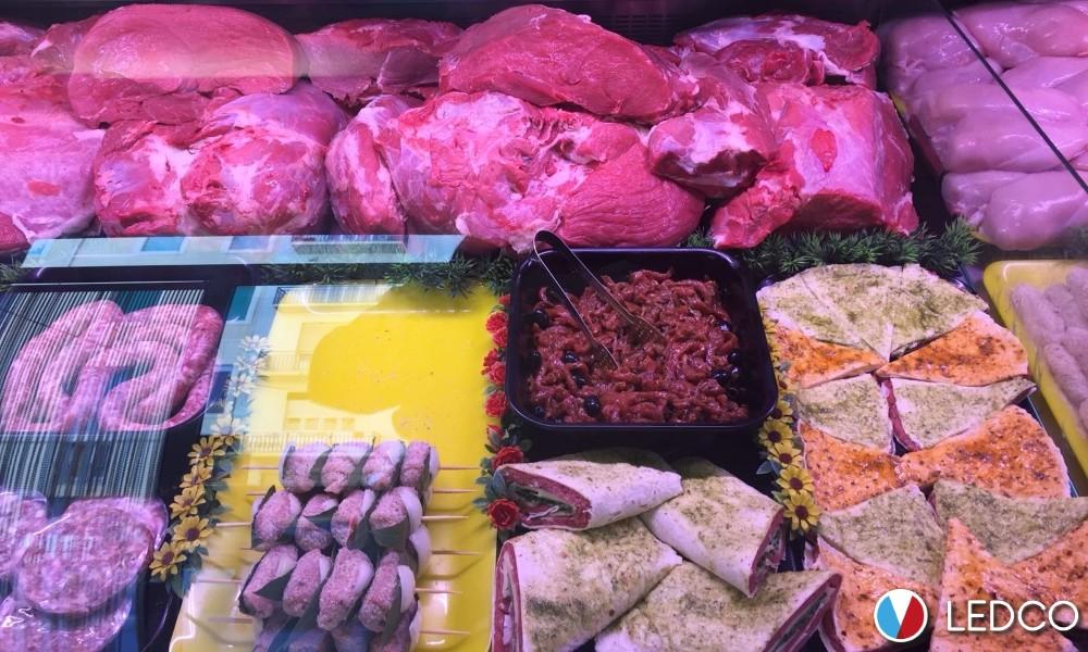 Strip led per banco carni – macelleria – Sicilia