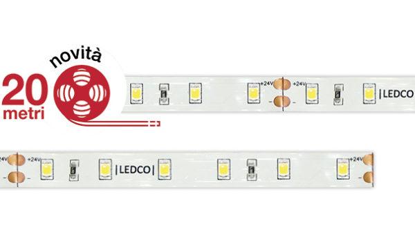 Strip Led flessibile da 20 metri, flessibilità elevata e risparmio energetico