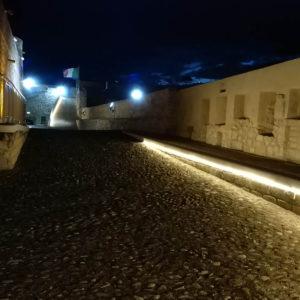 Strisce A Led Da Esterno.Strip Led Pvc Da Esterno Castello Svevo Manfredonia Fg