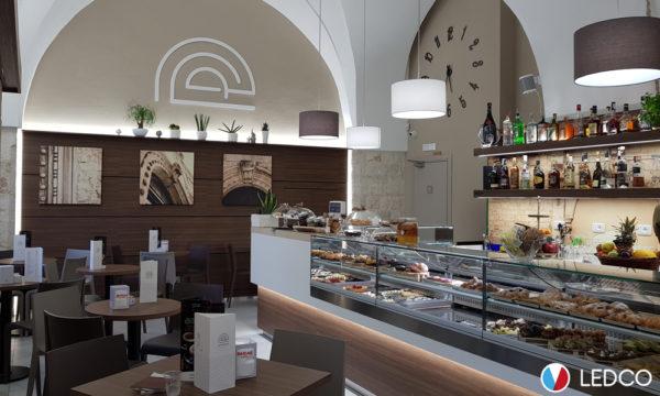 Illuminazione arcate Bar - Provincia di Bari