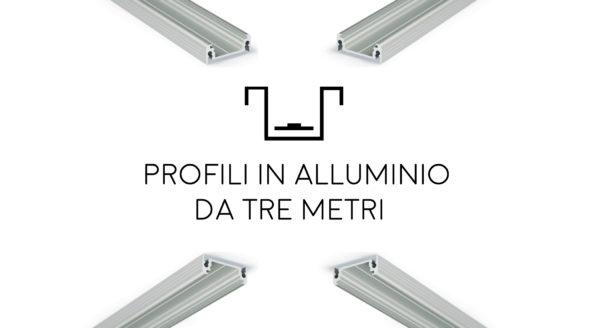 Creare ambienti ben illuminati con i Profili da tre metri