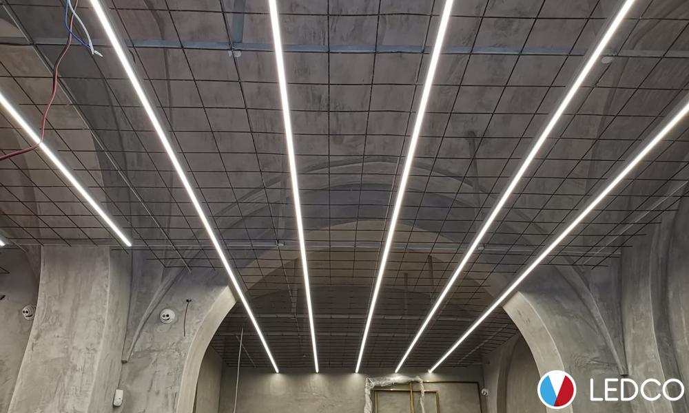 Strip Led per illuminazione negozio di abbigliamento – Taranto
