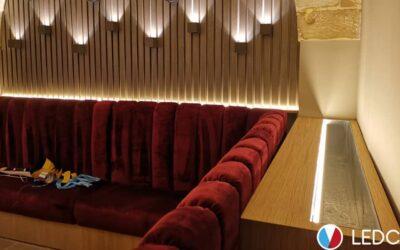 Strip Led per illuminazione Lounge Bar