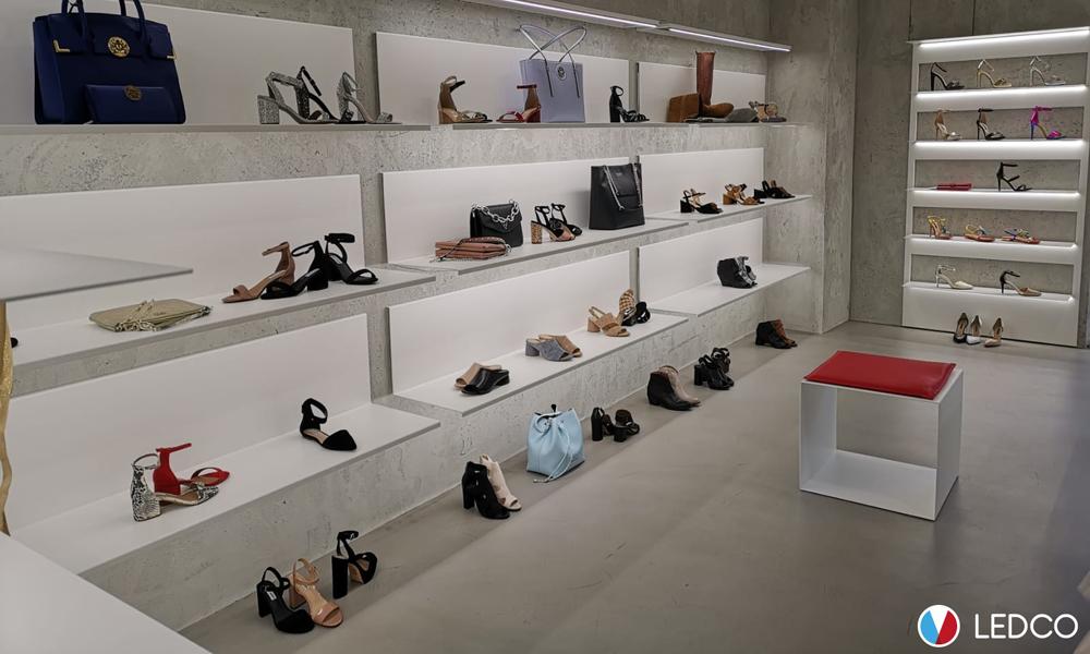 Illuminazione negozio Avantgarde Raho – Maglie