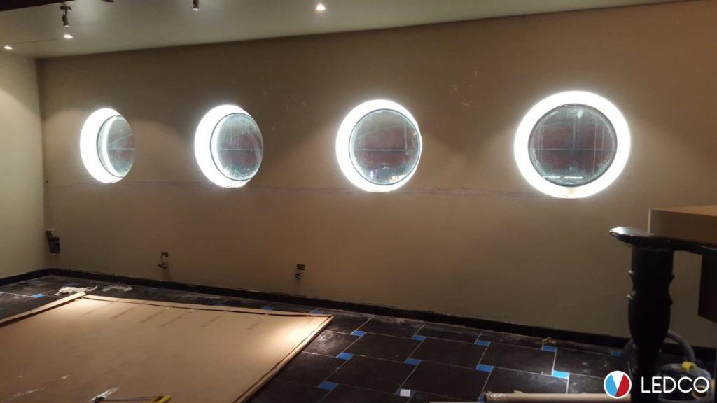 Mandela forum nuovo impianto di illuminazione per la palestra di