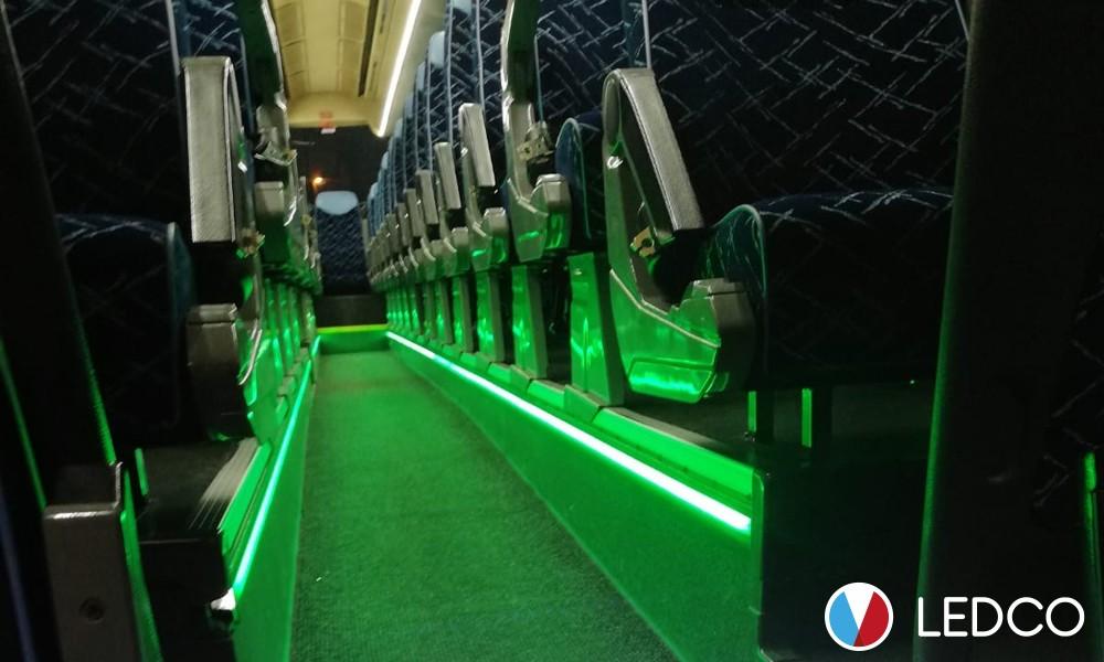 Illuminazione Autobus con Strip Led 12V