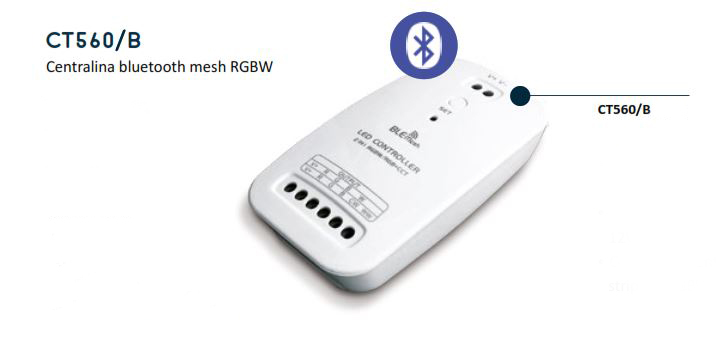 Bluetooth Mesh RGBW Control Unit – CT560/B