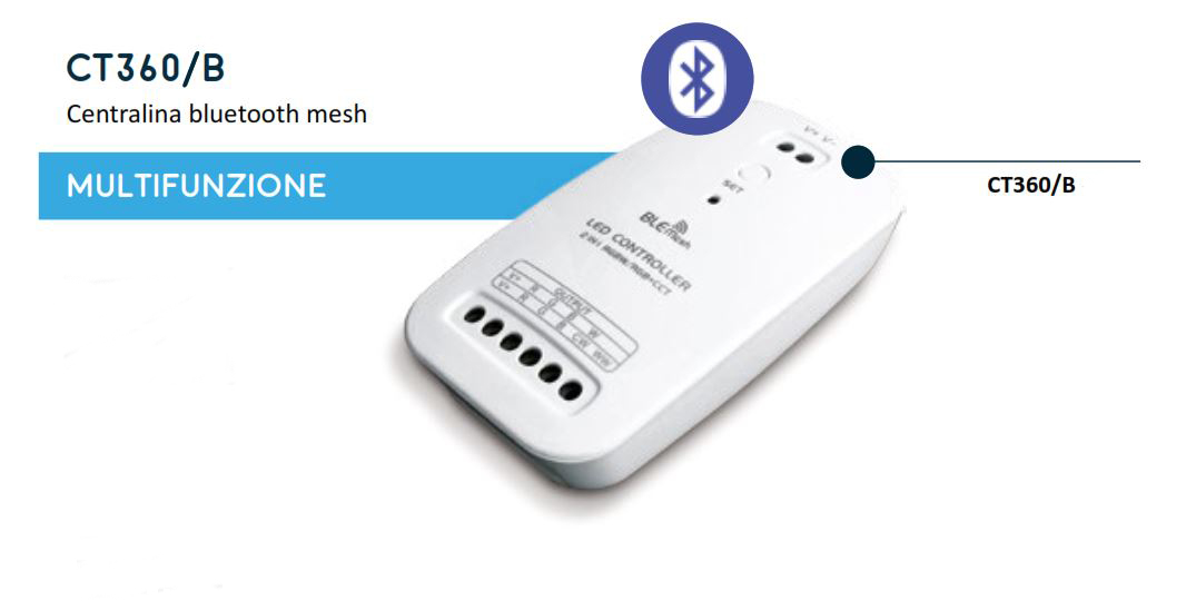 Multifunction Bluetooth Mesh Control Unit – CT360/B