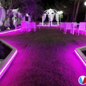 Illuminazione sala ricevimenti - S.Giovanni Rotondo (FG)