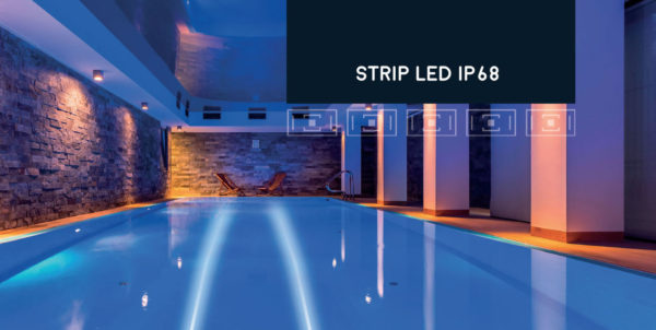 Strip Led IP 68 facile da tagliare e assemblare