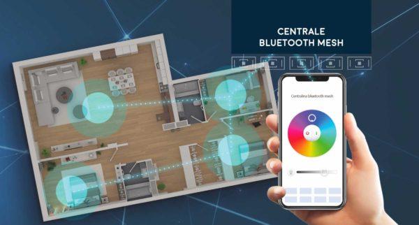 Tecnologia Bluetooth Mesh, facile creare impianti multizona con il solo utilizzo dello smartphone