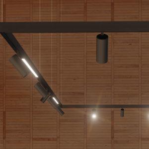Binario magnetico, barra led e spot a 48 V, la nuova linea Apparecchi Magnetici LINE48