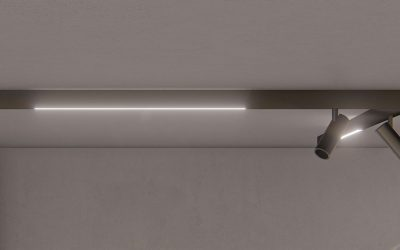 WALL-CEILING MAGNETIC TRACK 48V