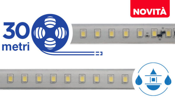 STRIP LED 48V - 30 metri - IP 68
