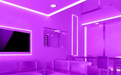 Strip LED  UV-C e UV-A