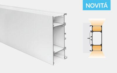 Profilo in alluminio – da parete – PR750
