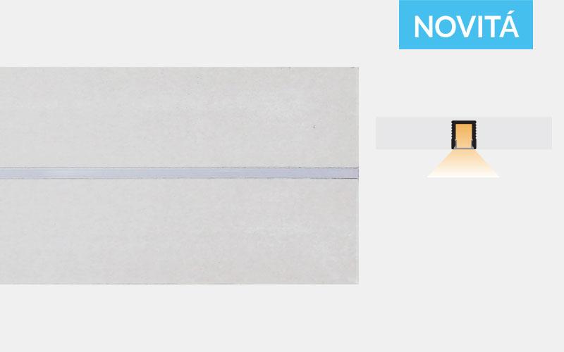 Profilo in alluminio preincassato in cartongesso – PG105