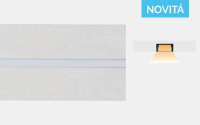 Profilo in alluminio preincassato in cartongesso – PG110