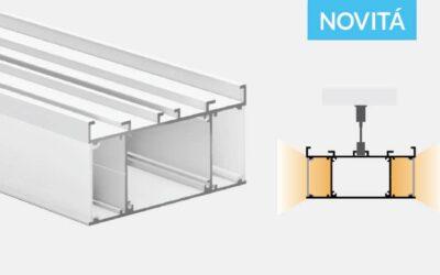 Profilo in alluminio – a sospensione – PR750