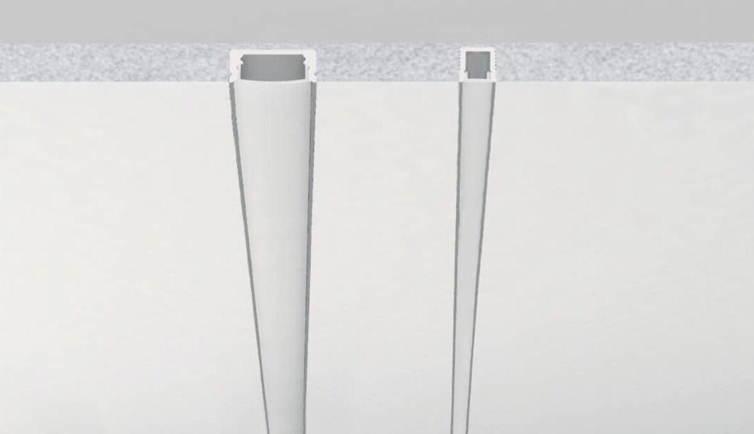 Profili in cartongesso, la nuova linea di profili preinstallati in pannelli di cartongesso
