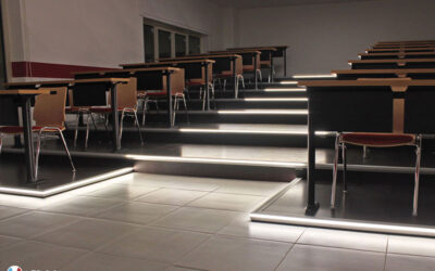 Illuminazione aula didattica – Croce Rossa Italiana