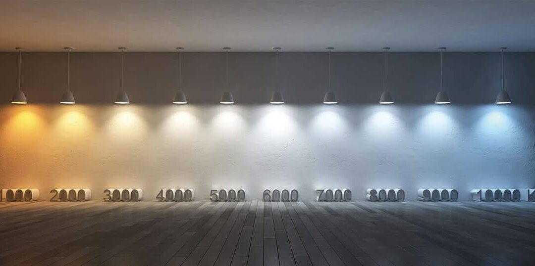Scegliere la giusta temperatura colore della luce LED