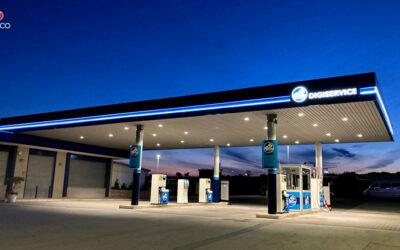 Illuminazione stazione di servizio – Altamura (BA)