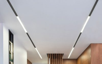TRIMLESS RECESSED 48V MAGNETIC TRACK