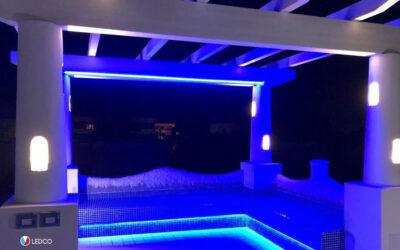 Illuminazione esterna villa – San Felice Circeo (LT)