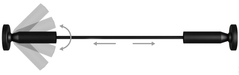 foto del binario magnetico con il disegno tecnico
