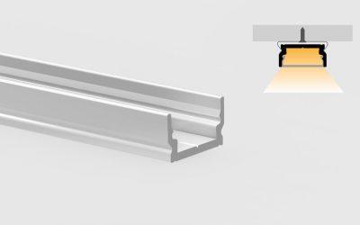 Aluminum profile – flat surfaces – PR101
