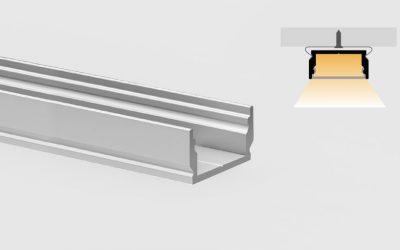 Aluminum profile – flat surfaces – PR115