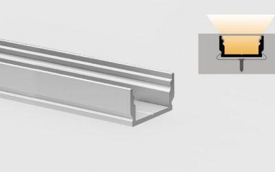 Profilo a pavimento calpestabile PR115 – carico statico fino a 150Kg