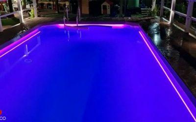 Illuminazione piscina – Sicilia