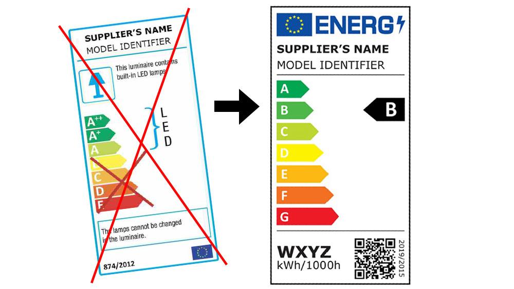 Nuove etichette energetiche per le sorgenti luminose in vigore dal 1° settembre